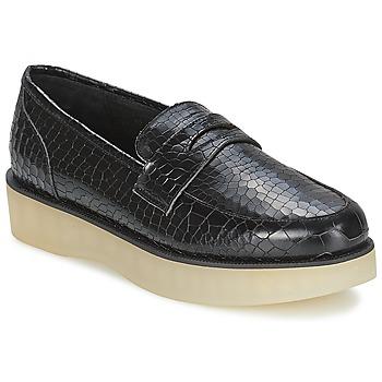 Čevlji  Ženske Mokasini F-Troupe Penny Loafer Črna
