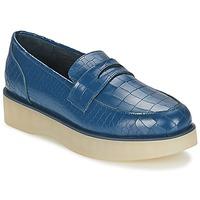 Čevlji  Ženske Mokasini F-Troupe Penny Loafer Modra