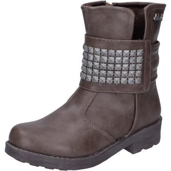 Čevlji  Deklice Gležnjarji Didiblu AH134 Bež