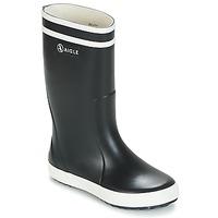 Čevlji  Otroci škornji za dež  Aigle LOLLY POP Bela