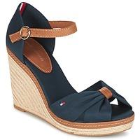 Čevlji  Ženske Sandali & Odprti čevlji Tommy Hilfiger ELENA 56D Kostanjeva