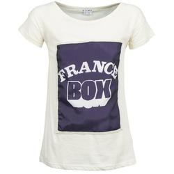 Oblačila Ženske Majice s kratkimi rokavi Kling WARHOL Bela