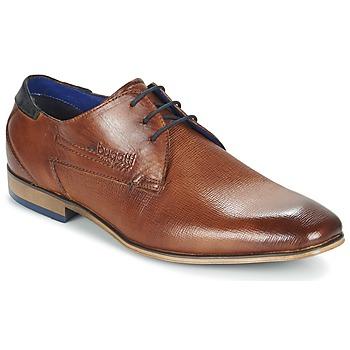Čevlji  Moški Čevlji Derby Bugatti CALETTE Cognac