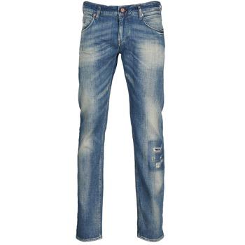 Oblačila Moški Jeans straight Meltin'pot MARTIN Niebieski / Světlá
