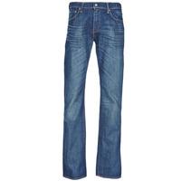 Oblačila Moški Kavbojke bootcut Levi's 527™ SLIM BOOT CUT Modra