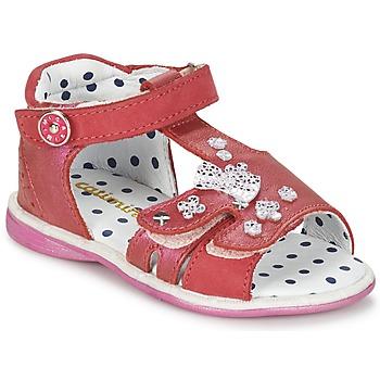 Čevlji  Deklice Sandali & Odprti čevlji Catimini PUCE Rožnata