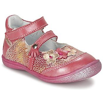 Čevlji  Deklice Balerinke GBB PIA Rožnata