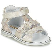 Čevlji  Deklice Sandali & Odprti čevlji GBB PING Siva / Srebrna