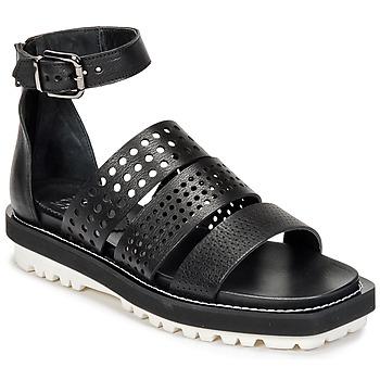 Čevlji  Ženske Sandali & Odprti čevlji Now PADOU Črna