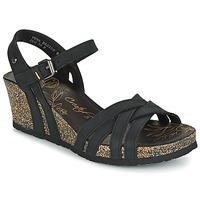 Čevlji  Ženske Sandali & Odprti čevlji Panama Jack VERA Črna