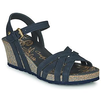 Čevlji  Ženske Sandali & Odprti čevlji Panama Jack VERA Modra