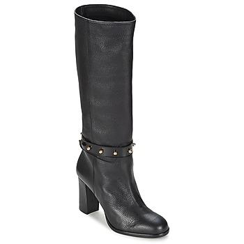 Čevlji  Ženske Mestni škornji    Moschino Cheap & CHIC STUD Črna