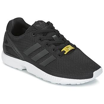 Čevlji  Otroci Nizke superge adidas Originals ZX FLUX J Črna