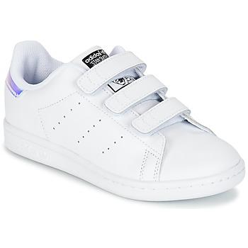 Čevlji  Deklice Nizke superge adidas Originals STAN SMITH CF C Bela