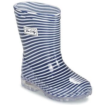 Čevlji  Otroci škornji za dež  Be Only MARINO Modra