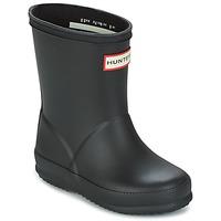 Čevlji  Otroci škornji za dež  Hunter KIDS FIRST CLASSIC Črna