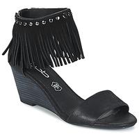 Čevlji  Ženske Sandali & Odprti čevlji Les Petites Bombes NADIA Črna