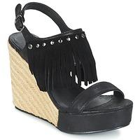 Čevlji  Ženske Sandali & Odprti čevlji Les Petites Bombes SABINE Črna