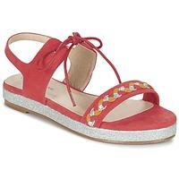 Čevlji  Ženske Sandali & Odprti čevlji Moony Mood GLOBUNE Rožnata