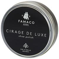 Dodatki  Nega obutve Famaco BOITE DE CIRAGE DE LUXE MARRON FONCE 100 ML Brązowy