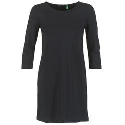 Oblačila Ženske Kratke obleke Benetton SAVONI Črna