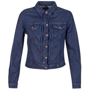 Oblačila Ženske Jeans jakne Benetton FESCAR Modra