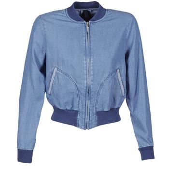 Oblačila Ženske Jeans jakne Benetton FERMANO Modra