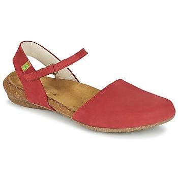 Čevlji  Ženske Sandali & Odprti čevlji El Naturalista WAKATAUA Rdeča