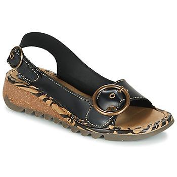 Čevlji  Ženske Sandali & Odprti čevlji Fly London TRAMFLY Črna