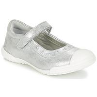 Čevlji  Deklice Balerinke Mod'8 PRISCA Srebrna