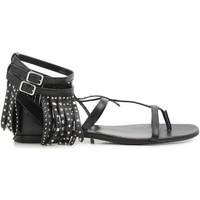 Čevlji  Ženske Sandali & Odprti čevlji Saint Laurent 416400 B3400 1000 nero