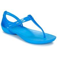 Čevlji  Ženske Sandali & Odprti čevlji Crocs CROCS ISABELLA T-strap Modrá