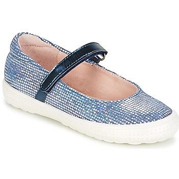 Čevlji  Deklice Balerinke Acebo's SIULO Modra