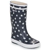 Čevlji  Deklice škornji za dež  Aigle LOLLY POP PRINT Večbarvna