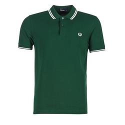 Oblačila Moški Polo majice kratki rokavi Fred Perry THE FRED PERRY SHIRT Zelena