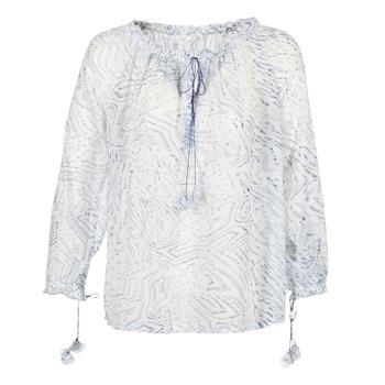 Oblačila Ženske Topi & Bluze See U Soon 7111084 Bela