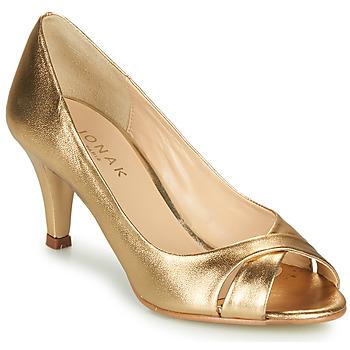 Čevlji  Ženske Sandali & Odprti čevlji Jonak DIANE Zlata