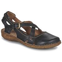 Čevlji  Ženske Sandali & Odprti čevlji Josef Seibel ROSALIE 13 Črna