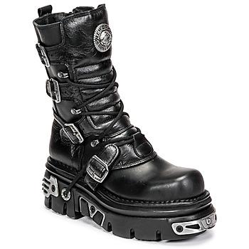 Čevlji  Polškornji New Rock NEMESIS Črna