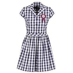 Oblačila Ženske Kratke obleke Love Moschino WVF3001 Modra / Bela