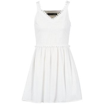 Oblačila Ženske Kratke obleke Love Moschino WVF3880 Bela