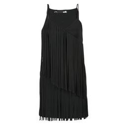 Oblačila Ženske Kratke obleke Love Moschino W595800 Črna