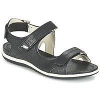 Čevlji  Ženske Športni sandali Geox D SAND.VEGA A Črna