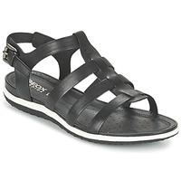 Čevlji  Ženske Sandali & Odprti čevlji Geox D SAND.VEGA A Črna
