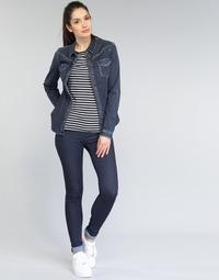 Oblačila Ženske Jeans skinny Replay TOUCH Modra / Brut