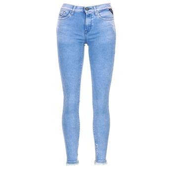Oblačila Ženske Jeans 3/4 & 7/8 Replay JOI Modra