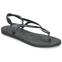Čevlji  Ženske Japonke Havaianas LUNA Črna