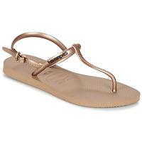 Čevlji  Ženske Sandali & Odprti čevlji Havaianas FREEDOM Rožnata / Pozlačena