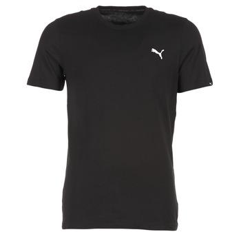 Oblačila Moški Majice s kratkimi rokavi Puma ESS TEE Črna