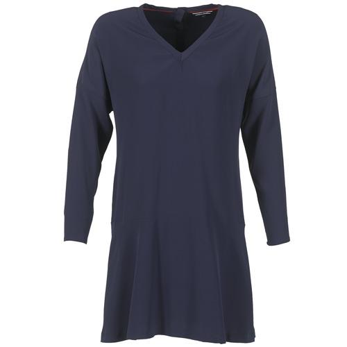 Oblačila Ženske Kratke obleke Tommy Hilfiger GRETA Modra